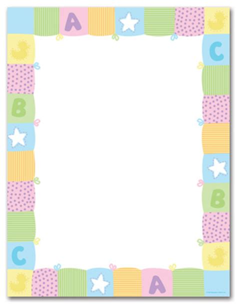 baby letterhead paper search results for free printable baby shower letterhead