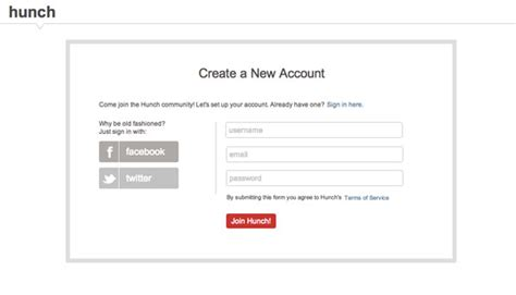 The Ultimate Ux Design Of The Sign Up Form Designmodo Sign Up For Our Newsletter Template