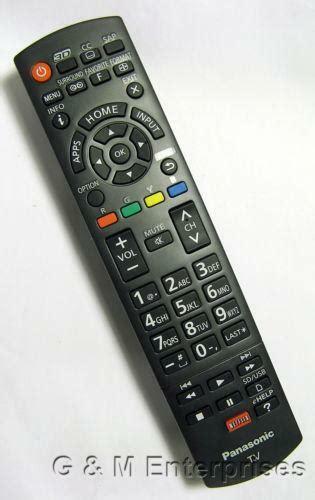 panasonic remote control ebay