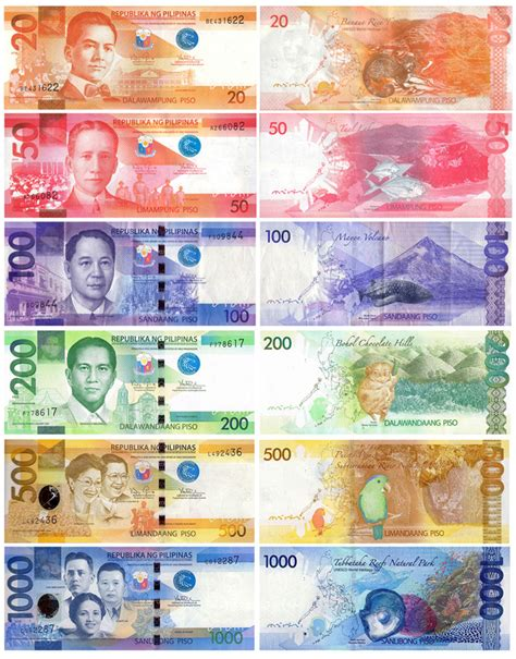 currency converter euro to philippine peso new philippine paper money currency pinterest