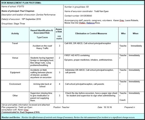 student risk assessment template student risk assessment template image collections