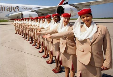 Dubai Airlines Cabin Crew by Emirates Airline Celebrates Fort Lauderdale Gateway With