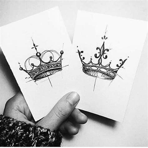 Queen Tattoo Drawings | best 25 king queen tattoo ideas on pinterest queen
