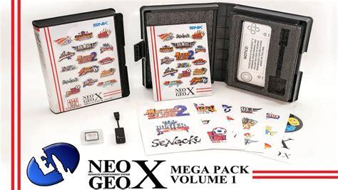 Cso Kit Vol2 Mega Bundle Vol1 Neo Geo X Mega Pack Vol 1 Parte 1 Descompactar