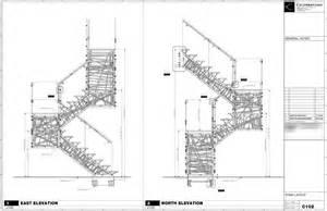 Stair Drawings by Genetic Stair Fabrication Caliper Studio