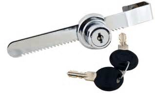 Glass Cabinet Door Lock Sliding Door Lock Key Security Products Ratchet Chrome