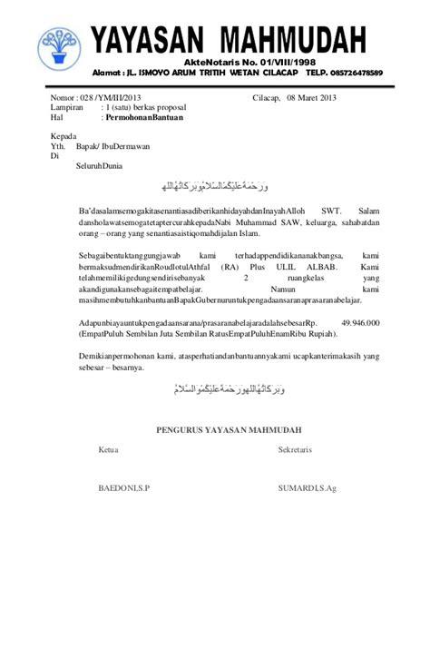 Surat Pengantar Sponsorship by Surat Permohonan