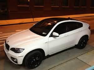 my alpine white x6 with black rims xbimmers bmw x6