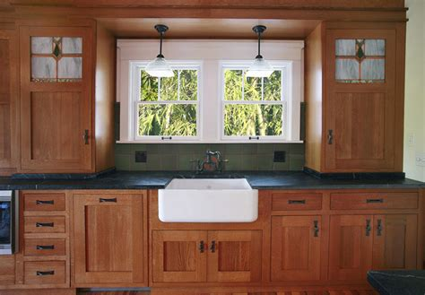 Craftsman Style Kitchen Cabinets Roselawnlutheran Craftsman Style Cabinet Doors