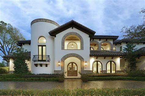 spanish design homes spanish style villa on the market houston chronicle