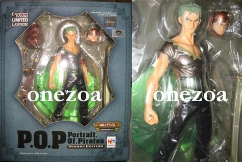 Mega House Pop Edition Z One Roronoa Zoro megahouse one p o p limited strong world lawson