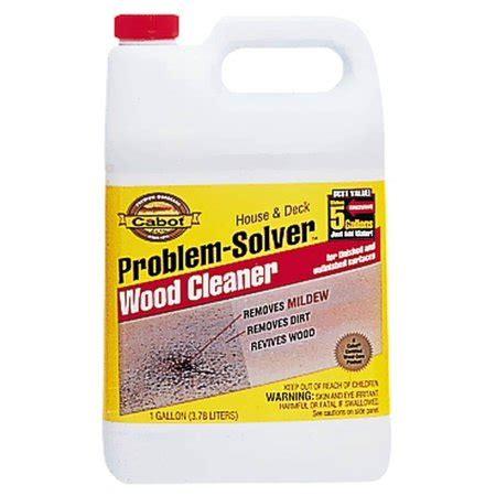 cabot problem solver house deck wood cleaner walmartcom