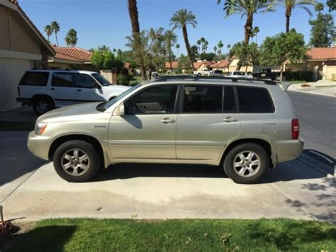 2000 Toyota Highlander Find Used Toyota Highlander Limited In San Bernardino