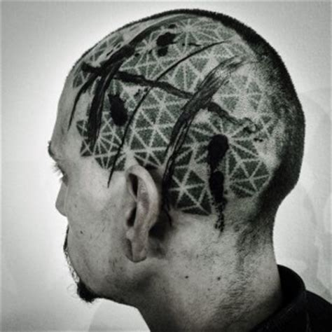 pattern head tattoo corey divine best tattoo ideas gallery