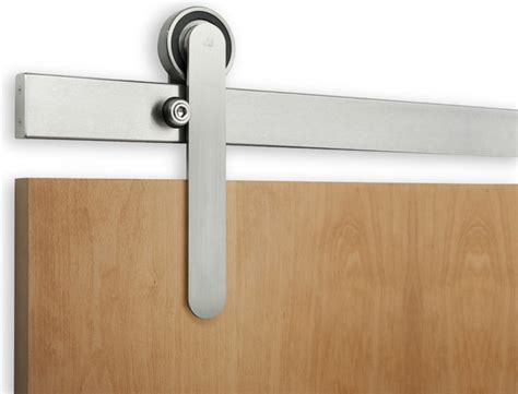 Interior Sliding Door Hardware oden sliding door hardware other metro by krownlab