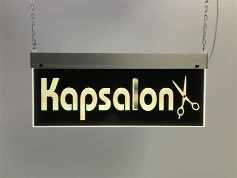 salon edge led l kapsalon perspex led bord ledb4515kaps