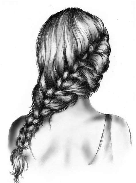 Drawing 4 Fall Hairstyles by Webb Drawings
