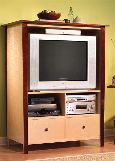 High Style, Low Cost TV Cabinet   Popular Woodworking Magazine