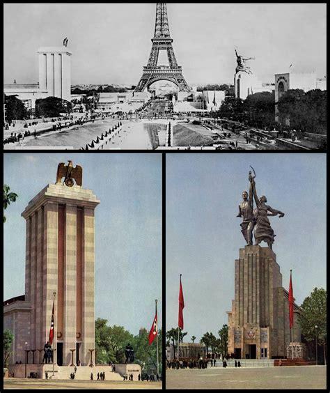 pavillon allemand 1937 l ouvrier et la kolkhozienne r 233 ussir en histoire et