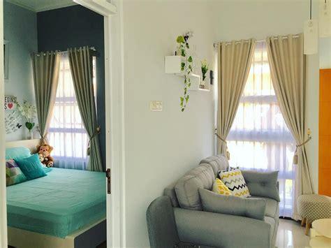 desain rumah unik tipe  meski mungil  indoor garden