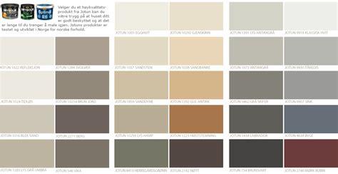 fargekart jotun livingroom