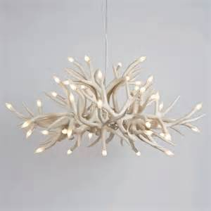 Contemporary Chandeliers Superordinate Antler Chandelier 24 Antlers