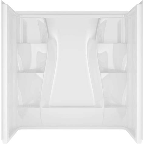 three piece bathtub delta classic 400 32 in x 60 in x 60 in 3 piece direct