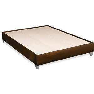 Platform Bed Frames At Walmart Topolino Platform Bed Espresso Ivory Sizes
