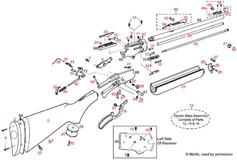 marlin c 9 parts diagram marlin 174 39a 201 clat 233 brownells