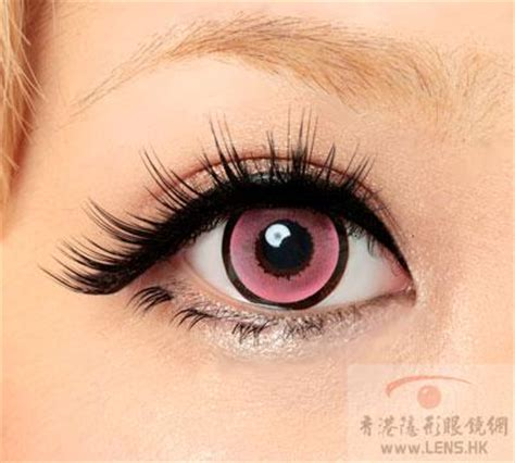 cq pink colored contacts lenses (pair) [cqp] $29.99