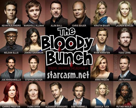 cast of my bloody the true blood season 4 cast as the bloody bunch