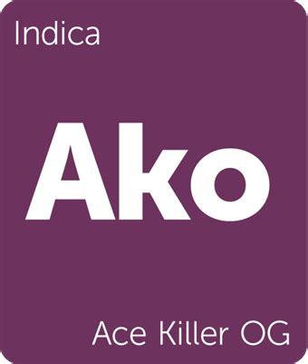 ace killer ace killer og cannabis strain information leafly