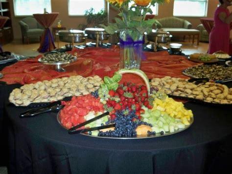 Wedding Reception Food Table Setups Reception Table
