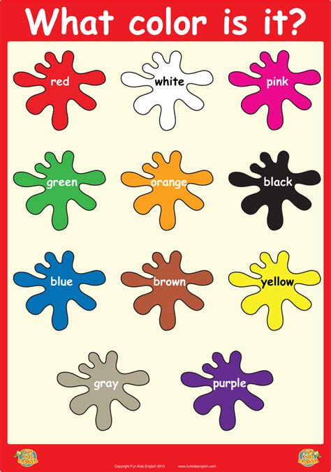 printable colour poster what color is it wall poster free learning resources