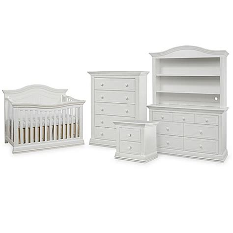bed bath and beyond providence sorelle providence nursery furniture collection in white