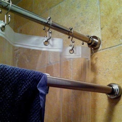 Shower Rods Etc by Shower Rods To Use One For Drying Towels Etc