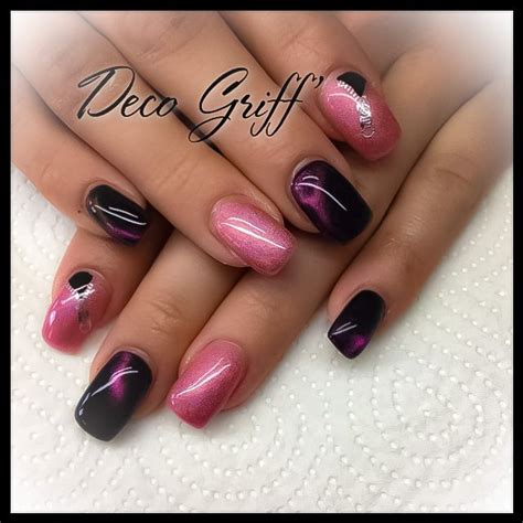 Ongle Plein Gel by Ongle Plein Et Noir Nail Ongle Deco Griff