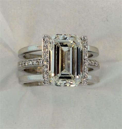 ring designs engagement ring designs emerald cut