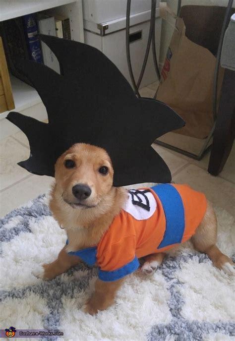 goku dog costume