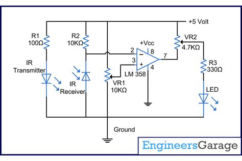 ir photodiode working infrared ir sensor for line follower not working in day light electrical engineering stack