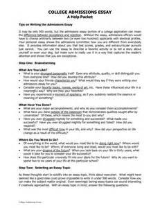 Exles Of College Essays That Worked by Sle College Essay Exles