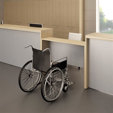 Accessible Reception Desk Pasha Italian Reception Desk