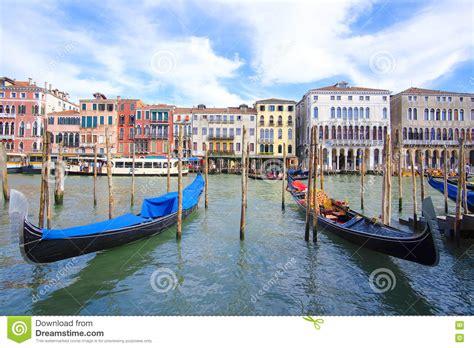 buy a gondola boat gondola boat sail in venice stock photography