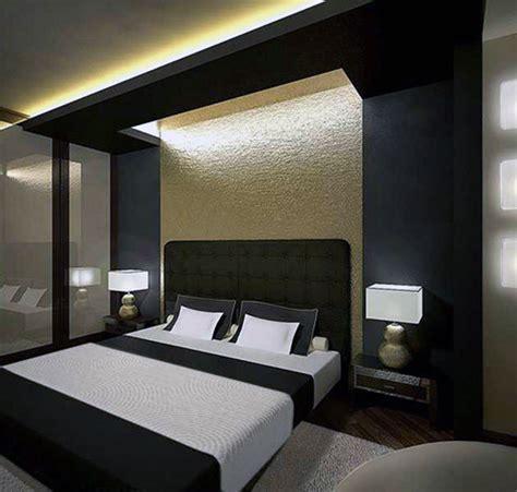 hiasan bilik tidur kontemporari moden sebagai