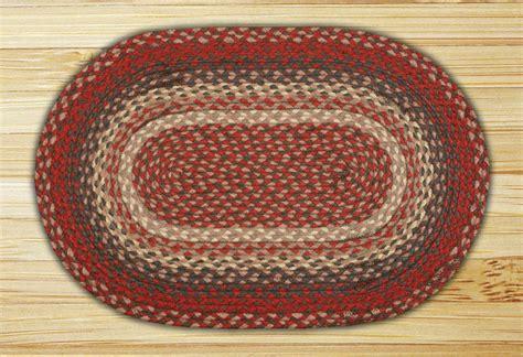 burgundy braided rug oval burgundy jute braided earth rug 174