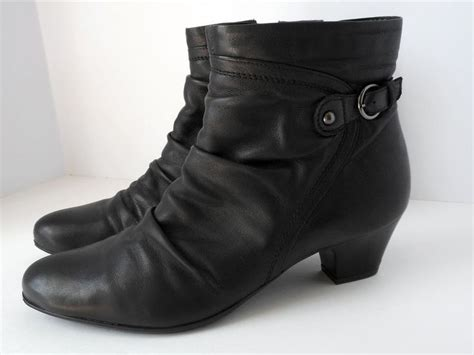 Limbo And Beloved clarks s limbo pause black leather ankle boots size