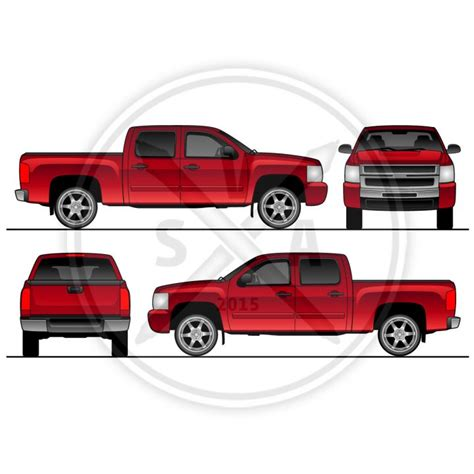 truck wrap templates vehicle wrap template archives stock vector