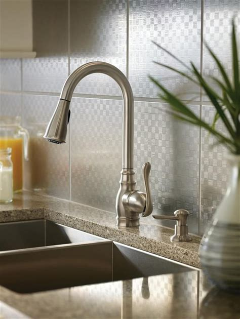 Pictures Of Kitchen Faucets Moen Anabelle Spot Resist Stainless 1 Handle Pull Down