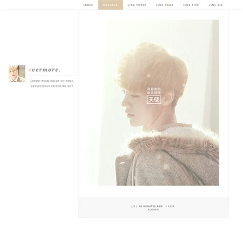 theme kpop gratis free themes on tumblr