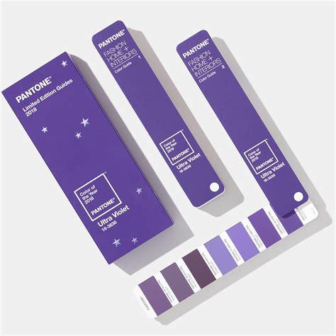 color of the year 2017 fashion pantone 2018年度代表色 uitra violet 紫外光色限量版 纺织色彩指南 tpg色卡